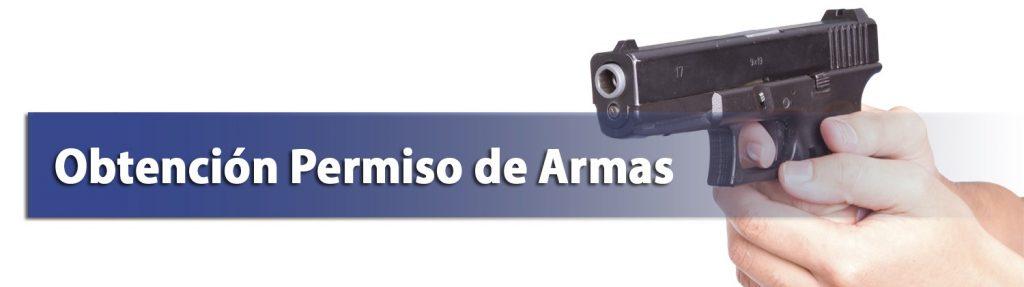 obtencion permiso armas