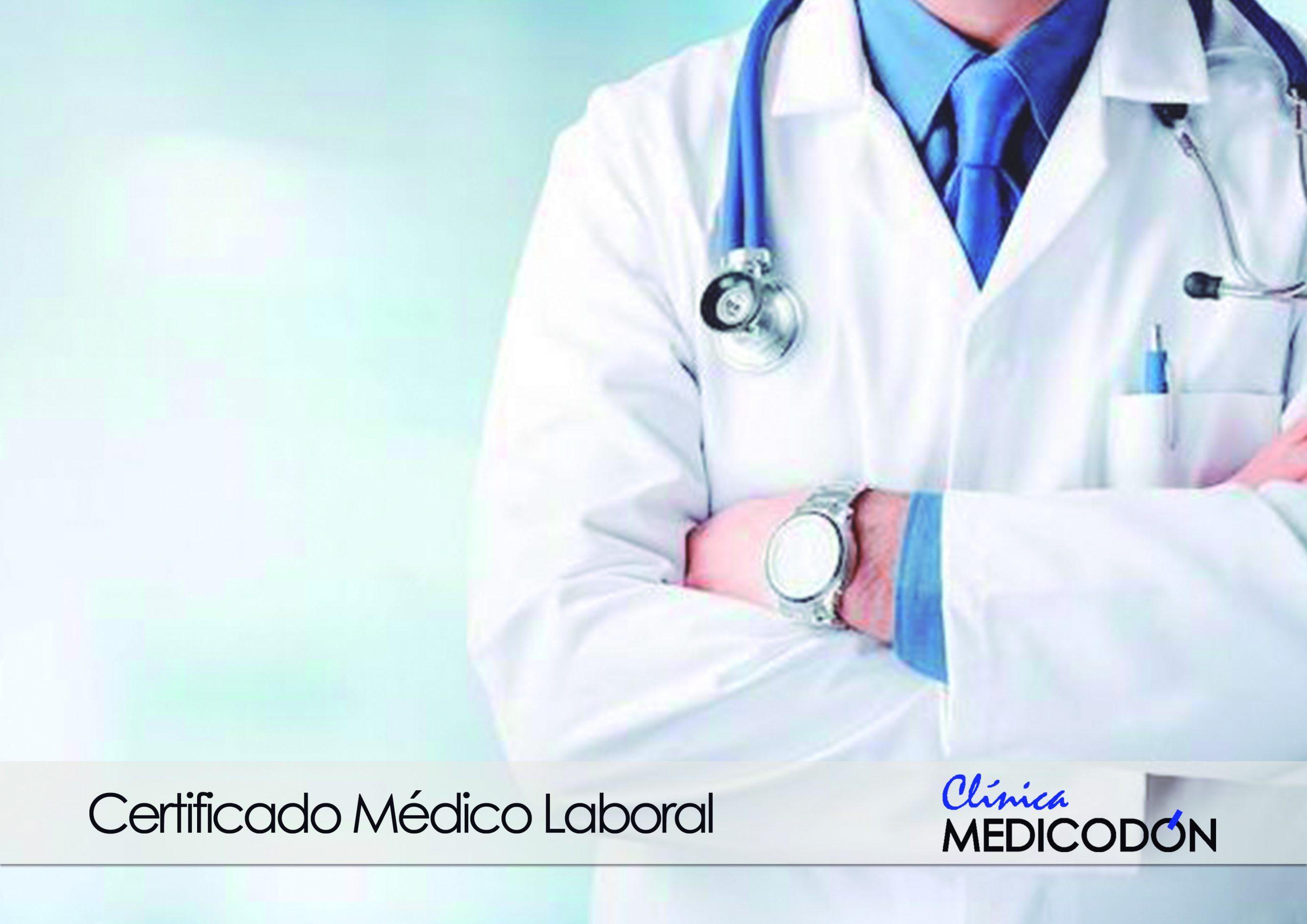 certificado médico laboral para trabajar
