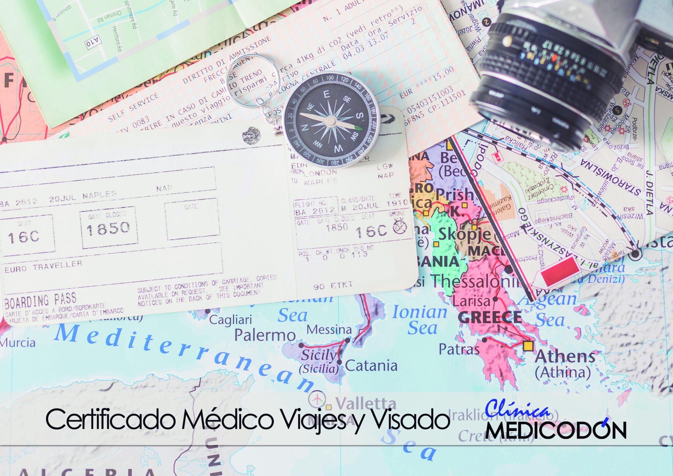 mapa de viajes con certificado